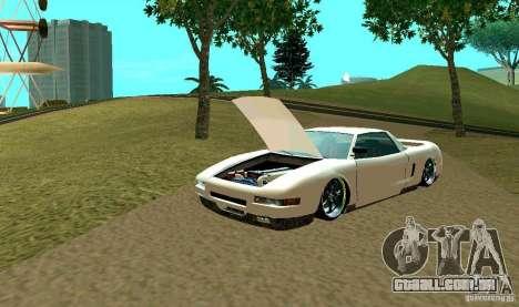 New Infernus para GTA San Andreas vista superior