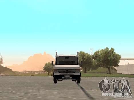 Mercedes-Benz Vario para GTA San Andreas vista traseira
