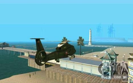Ka-60 Kasatka para GTA San Andreas vista direita