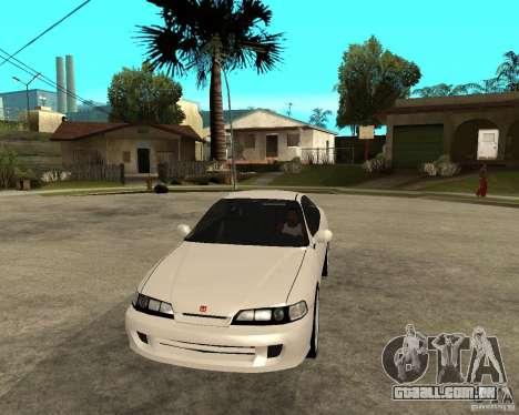 Honda Integra 1996 para GTA San Andreas vista traseira