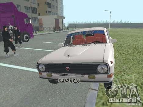 Volga GAZ 24-10 para GTA San Andreas traseira esquerda vista