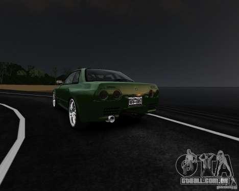 Nissan Skyline R32 GTS-t Veilside para GTA 4 vista direita