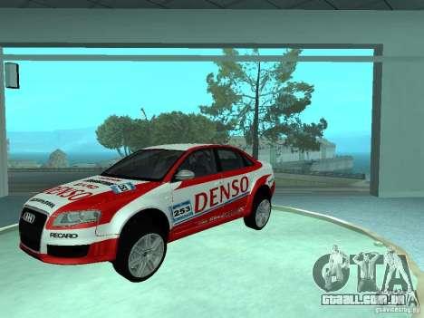 Audi RS4 para o motor de GTA San Andreas