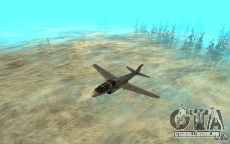 EA-6B Prowler para GTA San Andreas esquerda vista