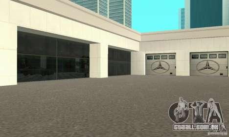Mercedes Showroom v. 1.0 (Autocentre) para GTA San Andreas segunda tela