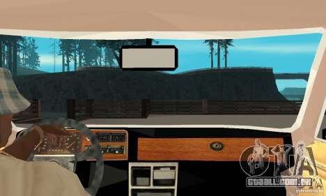 Ford Taunus 1978 para GTA San Andreas vista direita