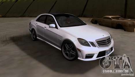 Mercedes-Benz E63 AMG V12 TT Black Revel para GTA San Andreas