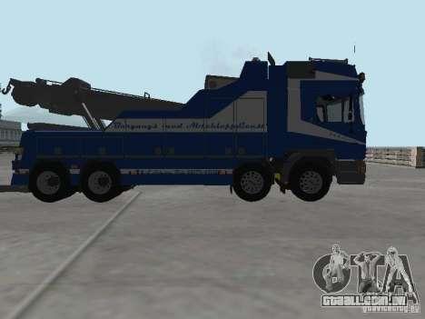 HOMEM F2000 (com roteiro de CLEO) para GTA San Andreas vista inferior