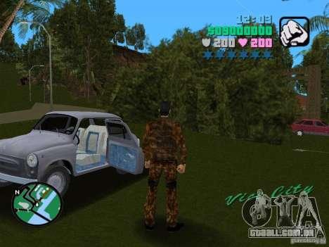 ZAZ 965 para GTA Vice City deixou vista