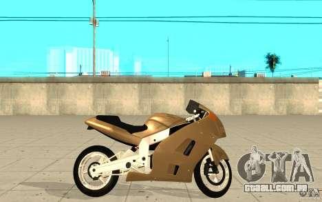 GTAIV TLAD Hakuchou Custom Version para GTA San Andreas esquerda vista