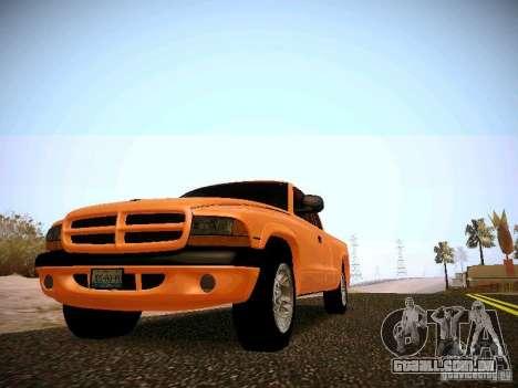 Dodge Ram 1500 Dacota para GTA San Andreas esquerda vista
