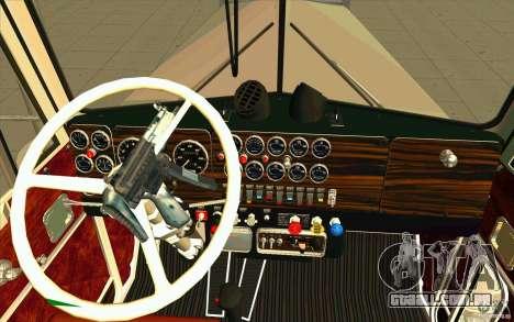Kenworth W900 Heavy Hauler 1974 para GTA San Andreas vista direita