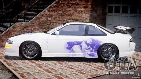 Nissan Silvia S14 [EPM] para GTA 4 esquerda vista