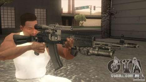 AK-47 v2 para GTA San Andreas terceira tela