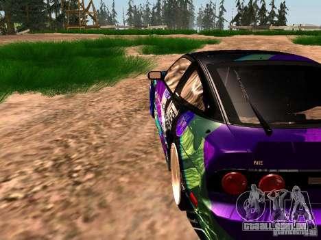 Nissan Sil80 Nate Hamilton para vista lateral GTA San Andreas