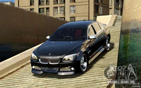Telas de menu e arranque BMW HAMANN no GTA 4 para GTA San Andreas quinto tela
