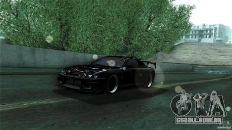 Nissan 200sx para vista lateral GTA San Andreas