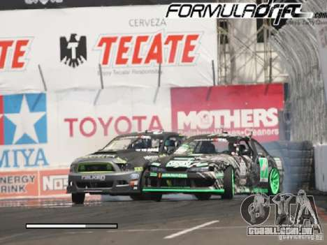 Telas de carregamento Formula Drift para GTA San Andreas segunda tela