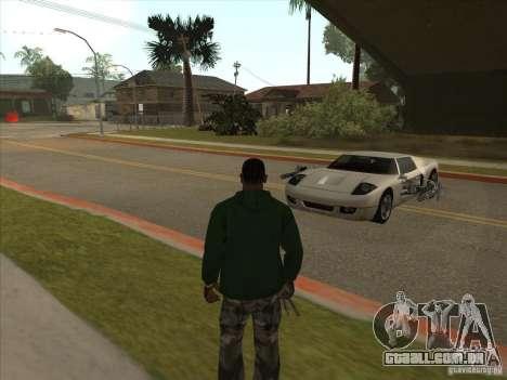 O script CLEO: Super carro para GTA San Andreas quinto tela