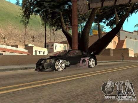 Chevrolet Cobalt SS Shift Tuning para GTA San Andreas traseira esquerda vista