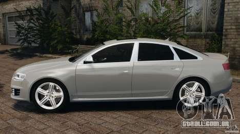Audi RS6 2010 v1.1 para GTA 4 esquerda vista