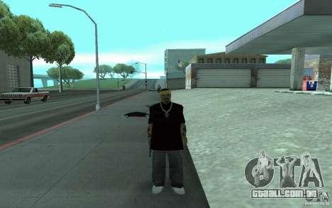 Novas skins de Los Santos Vagos para GTA San Andreas por diante tela