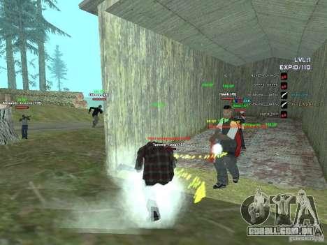 SA:MP 0.3d para GTA San Andreas terceira tela