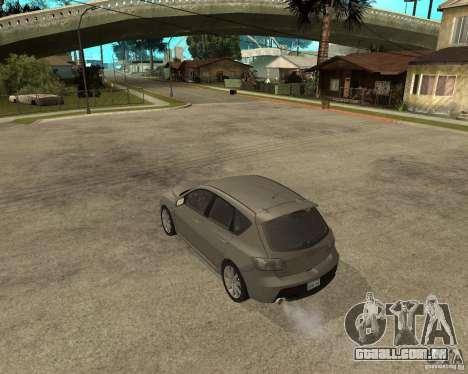 Mazda 3 Sport 2003 para GTA San Andreas esquerda vista