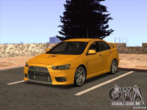 ENB de GTA IV para GTA San Andreas segunda tela