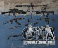 Armas de Pak de s. l. a. t. k. e. R para GTA San Andreas