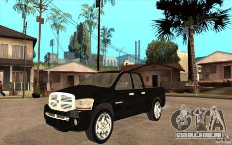 Dodge Ram 2500 2008 para GTA San Andreas
