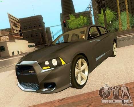 Dodge Charger SRT8 2012 para as rodas de GTA San Andreas