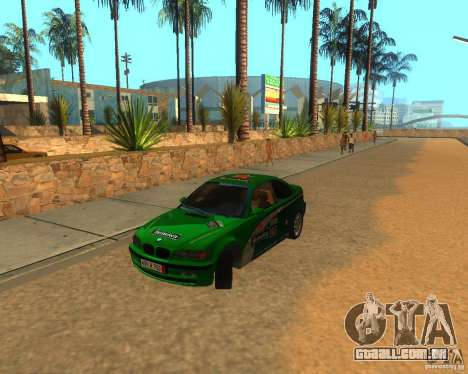 BMW 318i E46 2003 para GTA San Andreas vista interior
