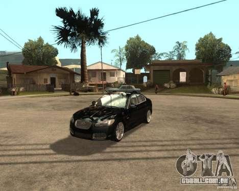 Jaguar XFR 2009 para GTA San Andreas