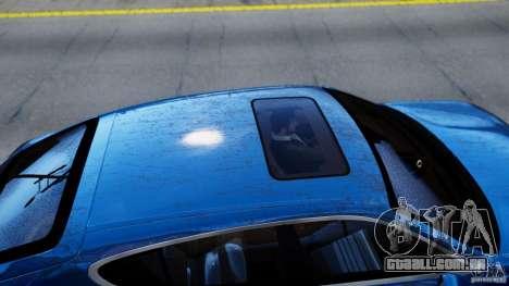 Porsche Panamera Turbo 2010 Black Edition para GTA 4 vista de volta