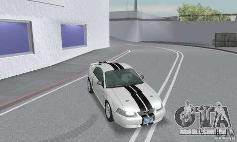 Ford Mustang GT 2003 para GTA San Andreas vista superior