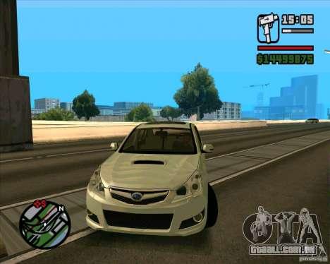 Subaru Legacy 2010 v.2 para GTA San Andreas