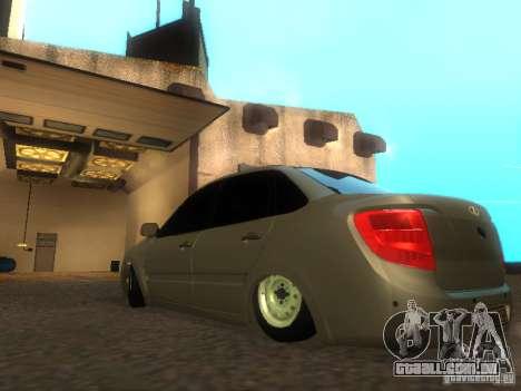 Lada Granta para GTA San Andreas vista direita
