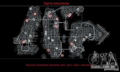 Car Shop Mod para GTA 4 quinto tela