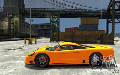 Saleen S7 para GTA 4 esquerda vista
