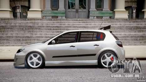 Opel Astra 1.9 TDI 2007 para GTA 4 esquerda vista