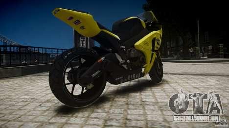 Honda CBR1000RR para GTA 4 esquerda vista