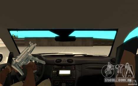 Mercedes-Benz CLK 500 Kompressor para GTA San Andreas vista direita