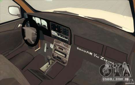 Cadillac Escalade 2004 para GTA San Andreas vista traseira