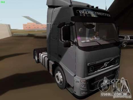 Volvo FH13 Globetrotter para GTA San Andreas esquerda vista