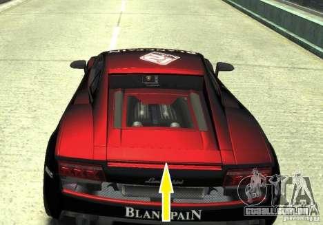 Lamborghini Gallardo SE Threep Edition [EPM] para GTA 4