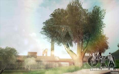 Lensflare para GTA San Andreas terceira tela