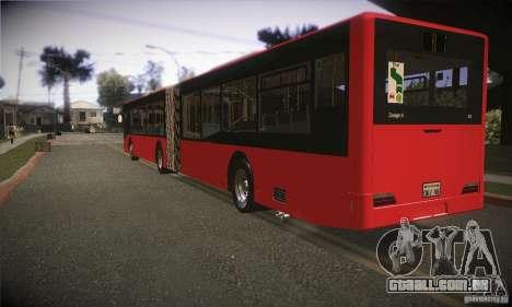 Design X3 GL para GTA San Andreas traseira esquerda vista