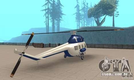 Mi-2 canais para GTA San Andreas esquerda vista