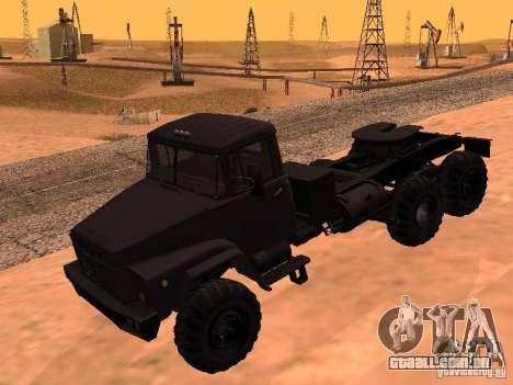 KrAZ 260V para GTA San Andreas